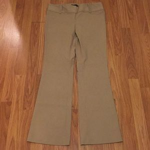 NWT The Limited Exact Stretch Tan Pants
